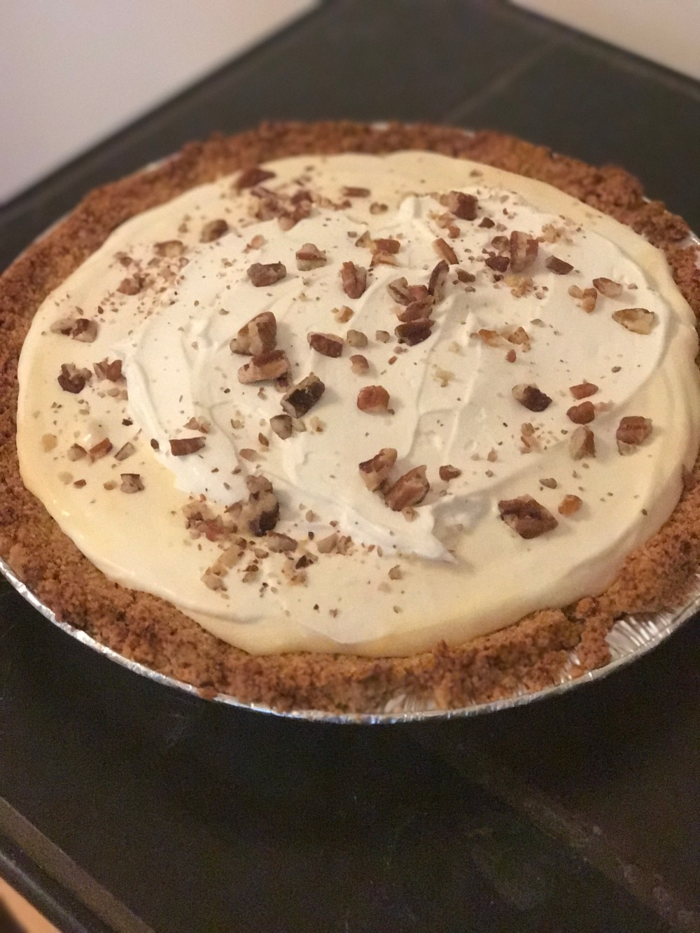 Banana cream pie keto