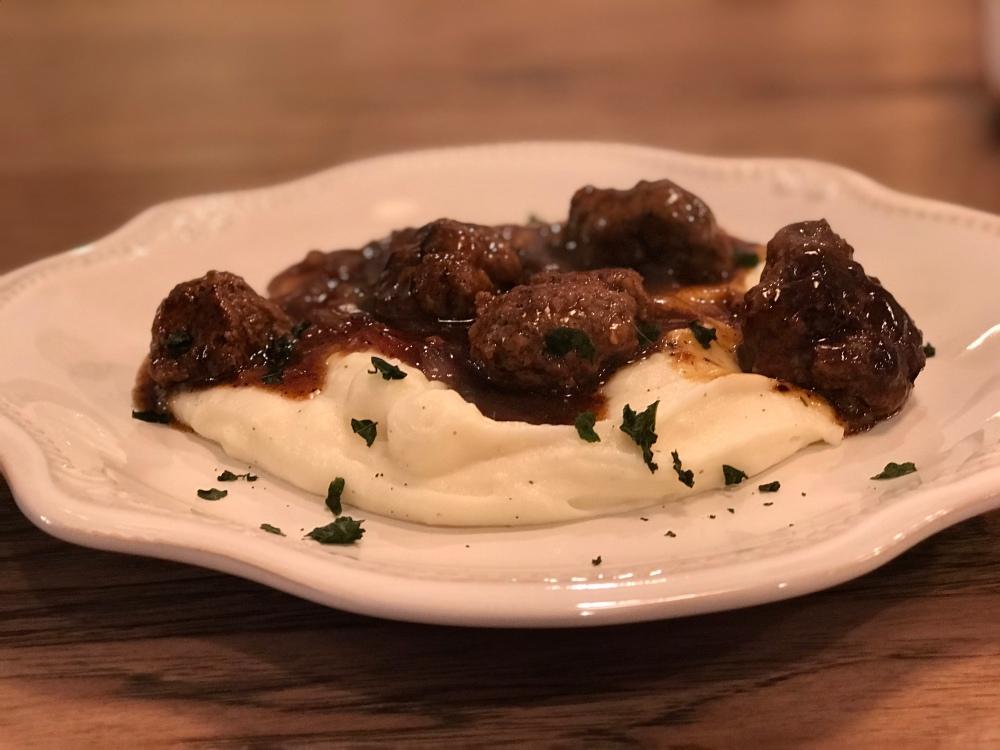 Salsbury Steak Meatballs